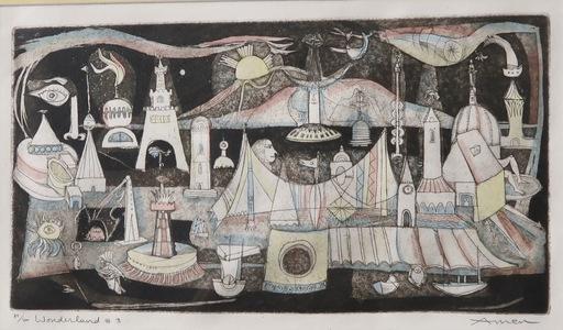 Irving AMEN - Druckgrafik-Multiple - Wonderland #3