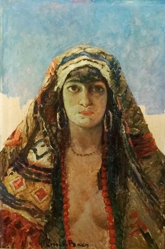 Emile BAES - Pintura - The Young Moor - Hommage to Kees Van Dongen