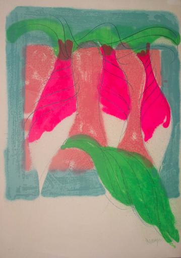 Jean MESSAGIER - Print-Multiple - Les radis