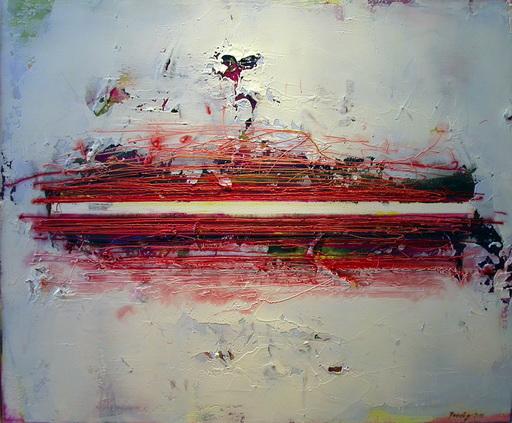 Drago PRELOG - Pintura - Balkenbahn rot