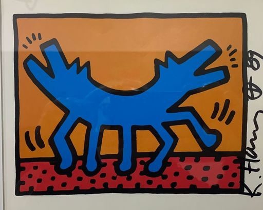 Keith HARING - Estampe-Multiple - Untitled