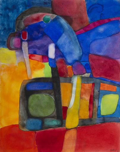Maurice ESTEVE - Disegno Acquarello - 982 - A