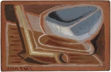 Juan GRIS - Peinture - Le bol