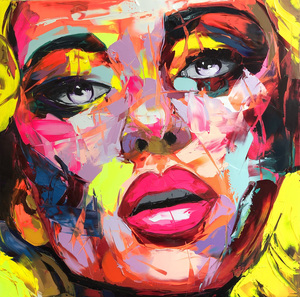 Françoise NIELLY - Painting - Catalina