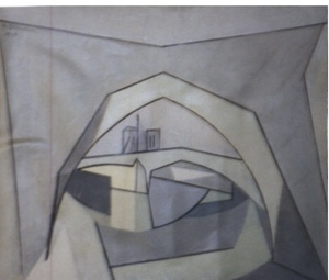 "André BEAUDIN - Painting - ""Sena"""