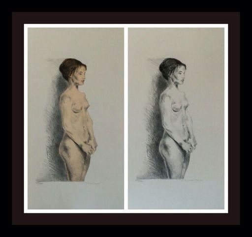 Raphael SOYER - Druckgrafik-Multiple - Nude Woman Portfolio