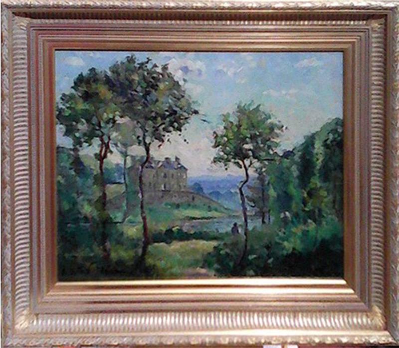 Emmanuel DE LA VILLÉON - Pittura - L'Étang de la Grisette