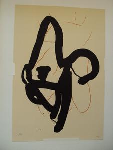 """Robert MOTHERWELL, """"Beau Geste III"""" 1989"""