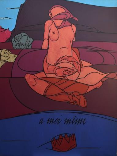 Valerio ADAMI - Painting - A moi même