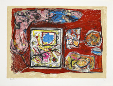 Jacques DOUCET - Print-Multiple - Rivages-visages-paysages du Sépik III