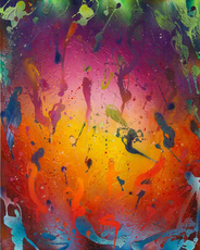 Christian AWE - Painting - Frühlingsgefühle