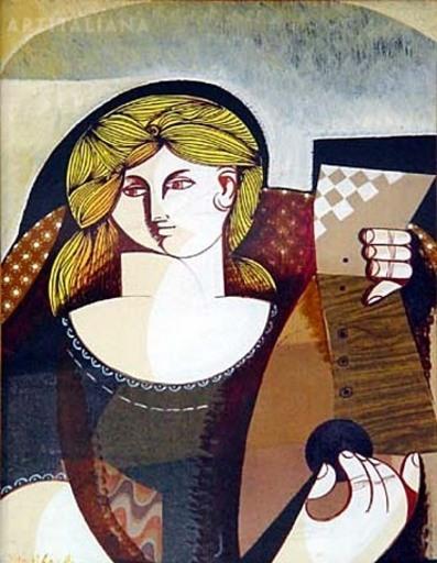 Vittorio Maria DI CARLO - Gemälde - Senza Titolo