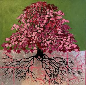 Corine LESCOP - Pittura - Erable Multicolore