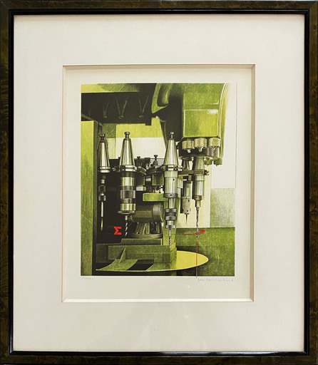 Jean-Marcel BERTRAND - Print-Multiple - Mécanisme