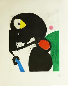 Joan MIRO - Print-Multiple - La Mangeuse de Cabres
