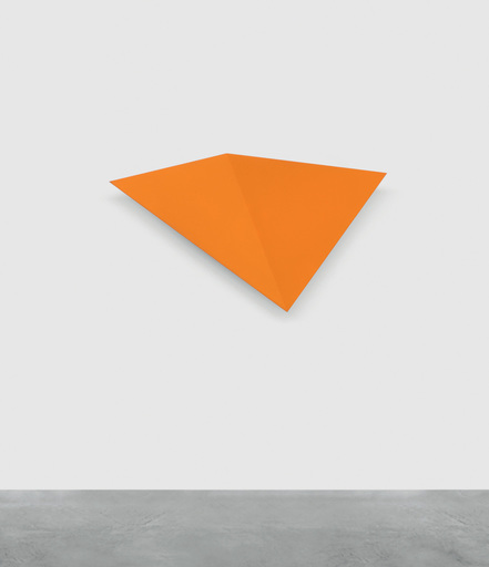 Wolfram ULLRICH - Scultura Volume - O.T. (orange)