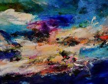 CHHOUR Kaloon - Pintura - Untitled ref. KPB17