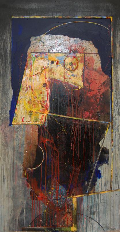Bernard OUVRARD - Painting - Sans titre