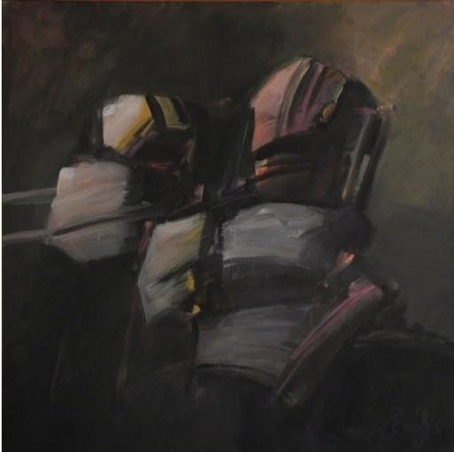 Orlando PELAYO ENTRIALGO - Gemälde - Regard d'éternité, Œil de l'instant