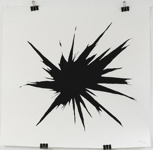 Arik LEVY - Painting - WoodHeart 002