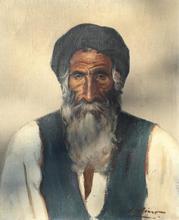 Gustave LINO - Peinture - portrait