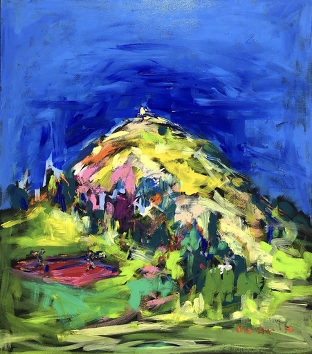 Nicole LEIDENFROST - Gemälde - Urlaub in Brixen im Thale