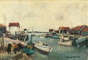 Marcel CRAMOYSAN - Gemälde - Le Cap-Ferret
