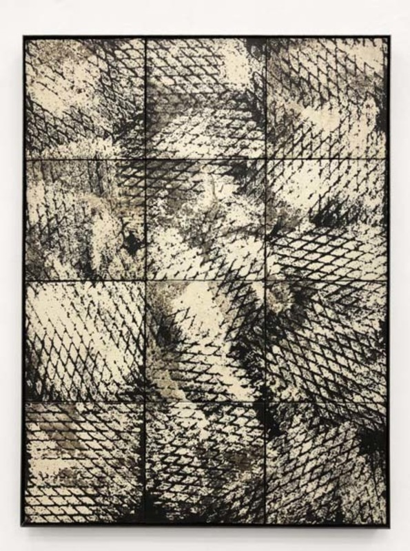Clemens WOLF - Ceramic - Expanded Metal Tile Painting