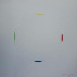 Gottfried HONEGGER - Grabado - Cercle