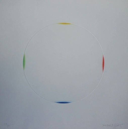 Gottfried HONEGGER - Print-Multiple - Cercle