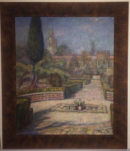 Samuel MÜTZNER - Pintura - Seville