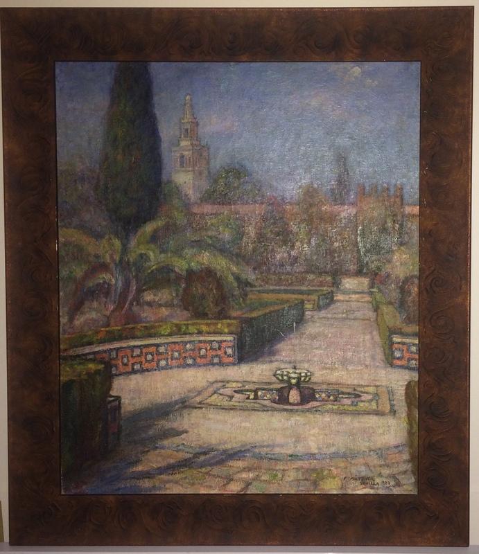 Samuel MÜTZNER - Painting - Seville