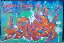 T-KID 170 - Peinture - Terrible T-Kid Tag