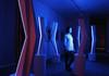 Fabrice AINAUT - Sculpture-Volume - 7 éléments luminosité-cinétique programmée