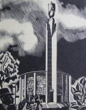 Désiré ACKET - Grabado - Expo 1930 Antwerpen