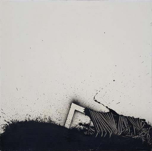 Emilio SCANAVINO - Painting - TRATTENUTO