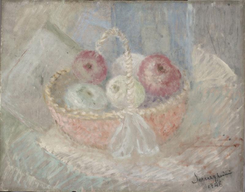 Pio SEMEGHINI - Peinture - Fruttiera