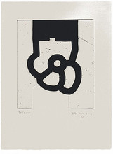 Eduardo CHILLIDA (1924-2002) - Literature or Life II