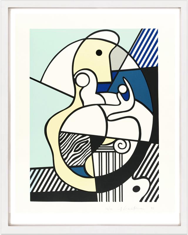 Roy LICHTENSTEIN - Stampa-Multiplo - Hommage to Max Ernst