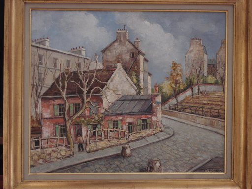 Paul FERON - Painting - La lapin à gil