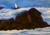 Kyna DE SCHOUEL - Peinture - Tempête