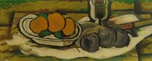 Georges BRAQUE - Estampe-Multiple - Still Life with Fruits | Nature Morte aux Fruits