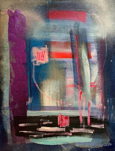Janin WALTER - 绘画 - Trying Failing