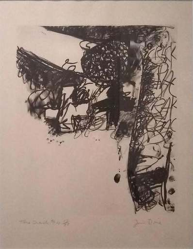 Jim DINE - Stampa-Multiplo - The Crash #4