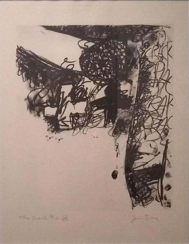 Jim DINE - Print-Multiple - The Crash #4