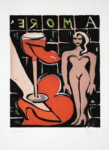 Elvira BACH - Print-Multiple - Amore