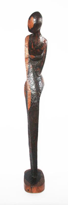 Olalekan GANI OLATUNMBI - Sculpture-Volume - African beauty