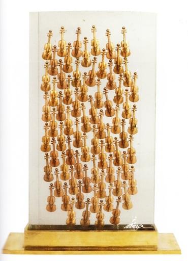 Fernandez ARMAN - Sculpture-Volume - 100 Violons