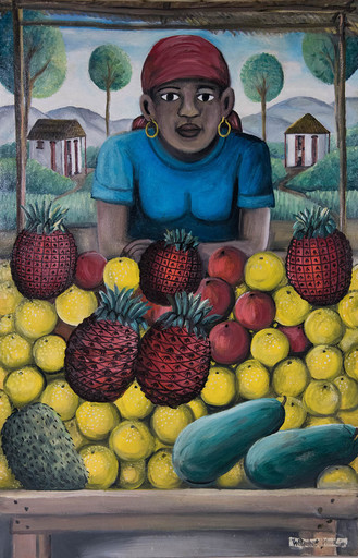 Wilson BIGAUD - 绘画 - Fruit Stand