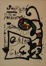 胡安·米罗 - 版画 - El Pi de Formentor